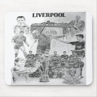 Estera del ratón de Liverpool de Colin Carr-Nall Alfombrilla De Raton
