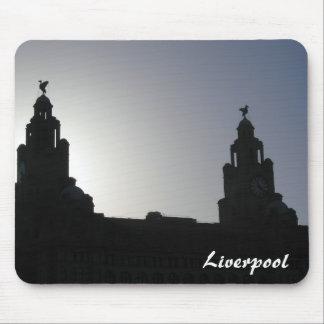 Estera del ratón de Liverpool Tapetes De Raton