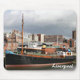 Estera del ratón de Liverpool Alfombrilla De Ratones