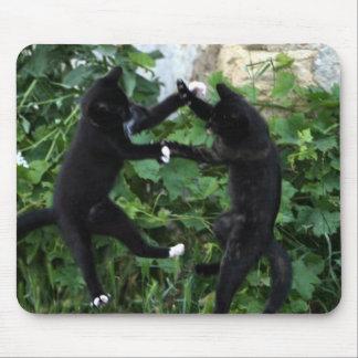 Estera del ratón de los gatos del baile tapete de ratones