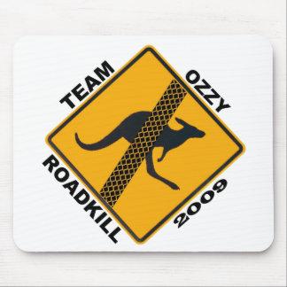 Estera del ratón de Ozzy Roadkill del equipo Alfombrillas De Ratón