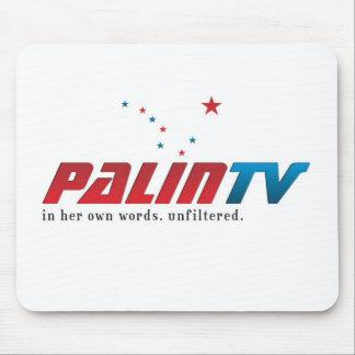 Estera del ratón de PalinTV - logotipo básico Alfombrillas De Ratón