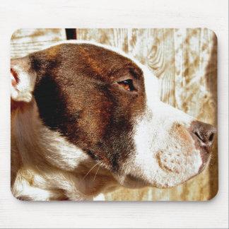 Estera del ratón de Staffordshire bull terrier Tapetes De Ratones
