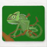 Estera del ratón del camaleón tapete de raton