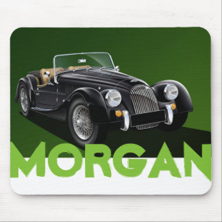 Estera del ratón del coche de deportes de Morgan Tapetes De Ratones