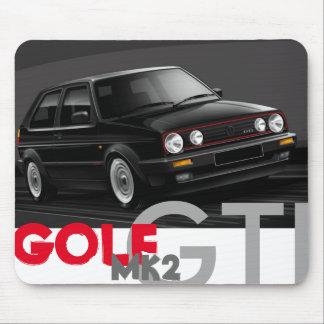 Estera del ratón del golf GTI Mk2 Tapete De Ratones