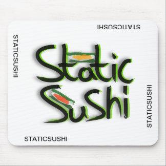 estera del ratón del logotipo del staticsushi alfombrillas de raton