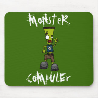 Estera del ratón del ordenador del monstruo de Fra Tapetes De Ratón