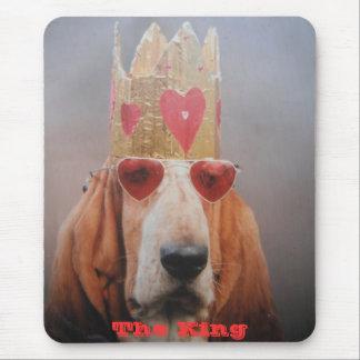 Estera del ratón el rey alfombrilla de ratón