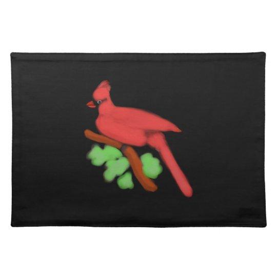 Estera-Personalizable cardinal del lugar Manteles