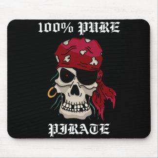 Estera pura del ratón del pirata del 100% tapetes de raton