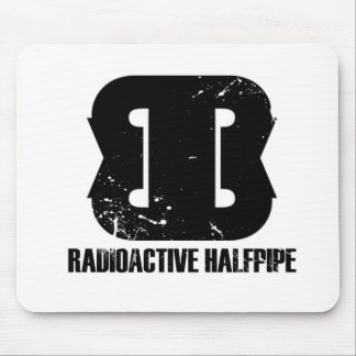 Estera radiactiva del ratón del Halfpipe Tapetes De Raton