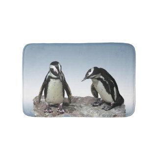 Esteras de baño de los pingüinos