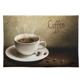 Esteras del lugar del amante del café manteles