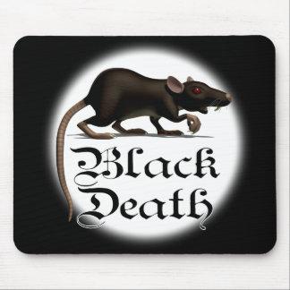 Esteras del ratón de la rata de la muerte negra mousepads