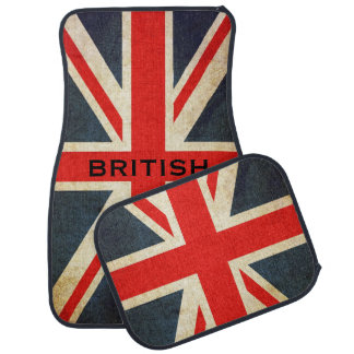 Esteras elegantes británicas del coche de Union Ja Alfombrilla De Auto