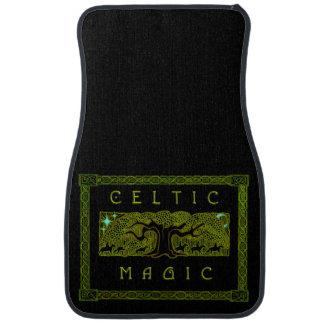 Esteras mágicas célticas del coche alfombrilla de auto