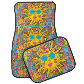Esteras maravillosas del coche de Sun del Hippie