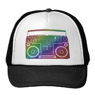 Estéreo del arco iris gorra