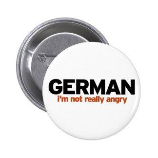 Estereotipo alemán pin redondo 5 cm