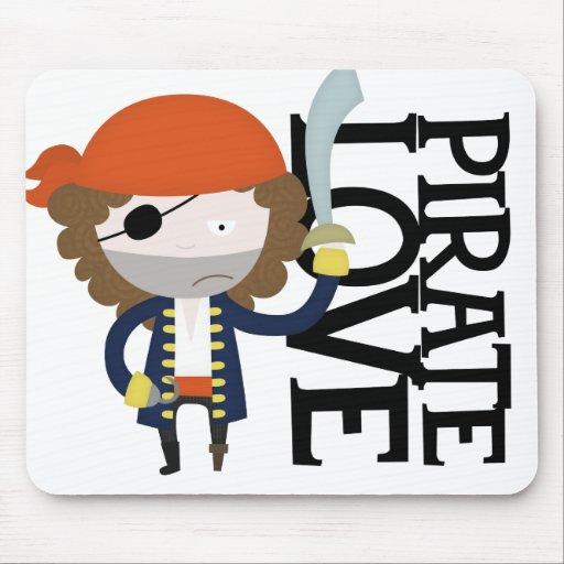 Estereotipo del pirata alfombrillas de raton