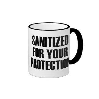 Esterilizado para su protección taza de dos colores