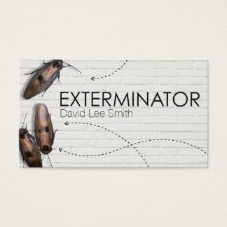 Esterminator pest control business card