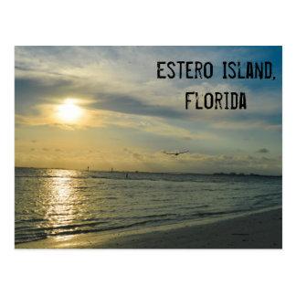 Estero Island postcard