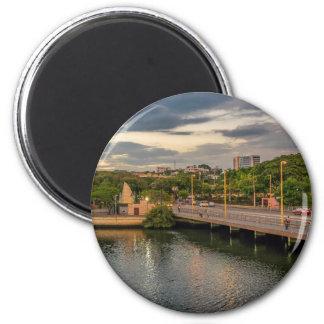 Estero Salado River Guayaquil Ecuador Magnet