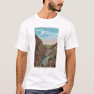 Estes Park, CO - View of Big Thompson Canon T-Shirt