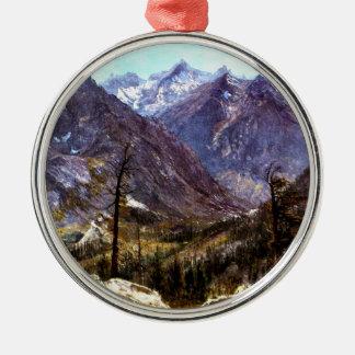 Estes Park, Colorado - Albert Bierstadt artwork Metal Ornament