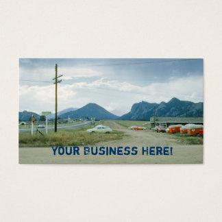 Estes Park Colorado Business Card