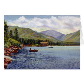 Estes Park Colorado Grand Lake and Mt. Baldy Card