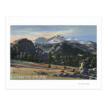 Estes Park, Colorado - Longs Peak View Post Cards