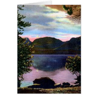 Estes Park Colorado Mt. Baldy and Grand Lake Card