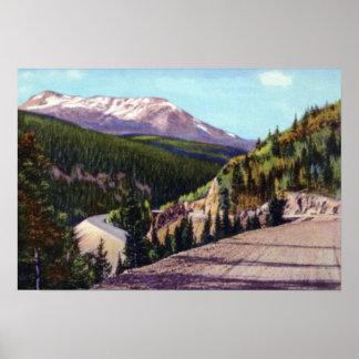 Estes Park Colorado Mt. Richthofen from Trail Ridg Poster
