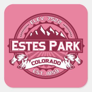 Estes Park Honeysuckle Square Sticker