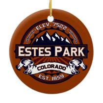 Estes Park Logo Ornament