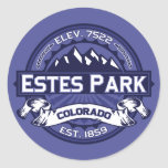 Estes Park Midnight Stickers