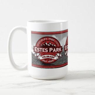 Estes Park Mug Red