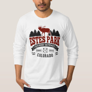 Estes Park Vintage Maroon T-Shirt