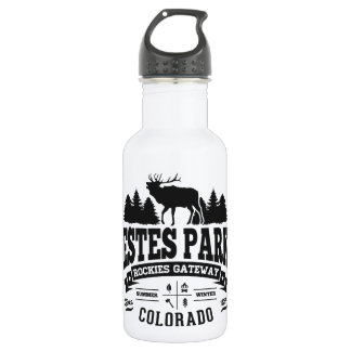 Estes Park Vintage Stainless Steel Water Bottle