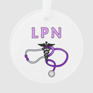 Estetoscopio de las enfermeras LPN