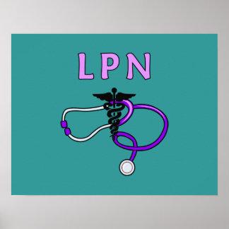 Estetoscopio de LPN Impresiones