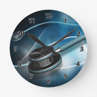 Estetoscopios médicos de la enfermera relojes