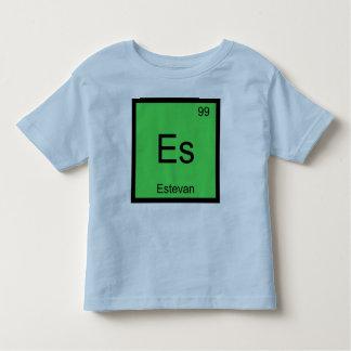 Estevan Name Chemistry Element Periodic Table Tee Shirts