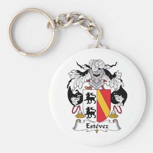 Estevez Family Crest Key Chains