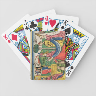 Esther 2 15-18, Esther is chosen to be Queen by th Bicycle Playing Cards