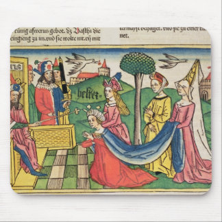 Esther 2 15-18, Esther is chosen to be Queen by th Mouse Pad