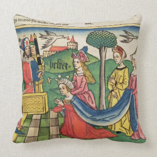 Esther 2 15-18, Esther is chosen to be Queen by th Pillow